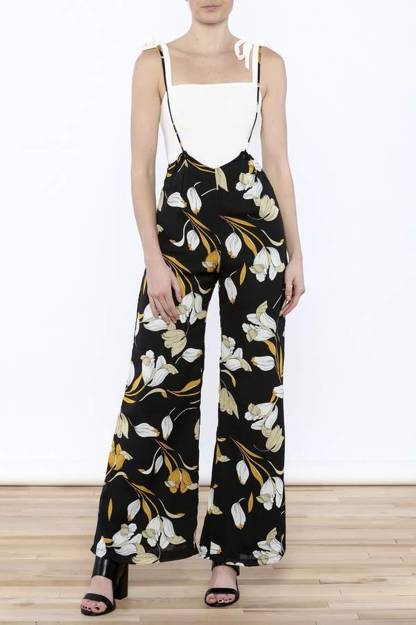 Lucca Couture Tulip Overall Jumpsuit