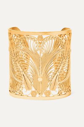 Mallarino Gold Vermeil Cuff - one size
