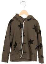 Nununu Boys' Star Print Distressed Sweatshirt