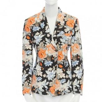 Celine Multicolour Cotton Jacket for Women