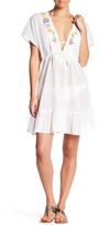 Shoshanna Beaded Peasant Dress