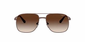Vogue Women's VO4083SM Non Polarized Rectangular Sunglasses