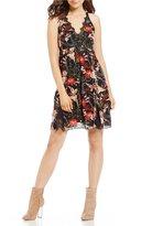 Jessica Simpson Lizzy Printed Slip Dress