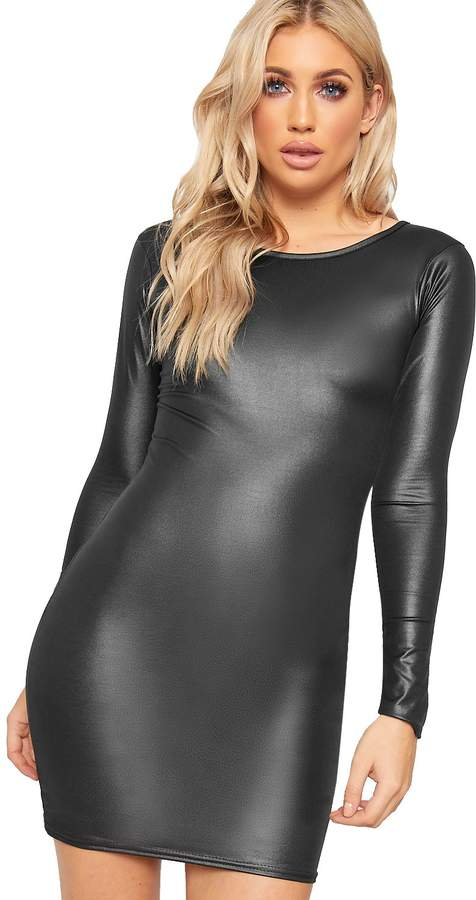 d55770bf2 Wet Look Top - ShopStyle Canada