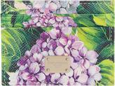 Dolce & Gabbana Multicolor Leather Ortensia Card Holder
