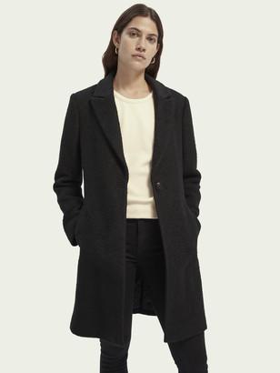 Scotch & Soda Tailored wool-blend jacket   Women