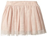 Stella McCartney Honey Rhinestone Embellished Tulle Skirt Girl's Skirt