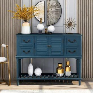 Moda Furnishings Moda Console Table Sideboard for Entryway Sofa