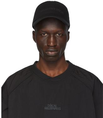 Juun.J Black Baseball Cap