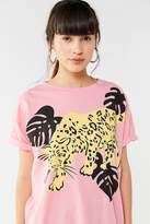 Truly Madly Deeply Tropical Jaguar Tee