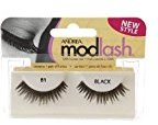 Andrea Mod Lash Style, Black, Style 81 1 pair PACK OF 2