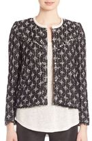 IRO Diamond-Patterned Jacket