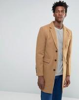 Bellfield Tan Wool Overcoat