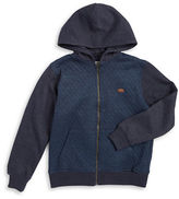 Lucky Brand Boys 8-20 Quilted Zip Up Hoodie