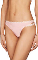 Pleasure State NEW 'Adeline Fitzgerald' Thong Pale Pink