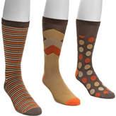 Muk Luks Crew Sock Pack (3 Pair) (Men's)
