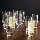 Crate & Barrel Set of 12 Otis Tall Drink Glasses