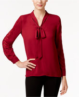 Vince Camuto Tie-Neck Blouse, A Macy's Exclusive Style