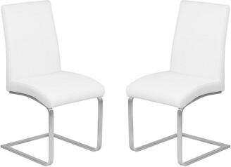 Armen Living Blanca Contemporary Dining Chair