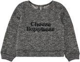 Troizenfants Dark grey heavy fleece sweatshirt