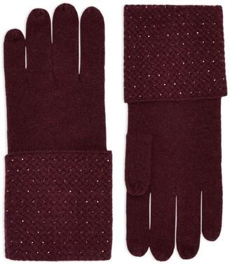 William Sharp Embellished Cashmere Gloves