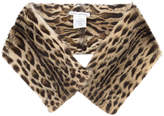 Oscar de la Renta shoulder scarf