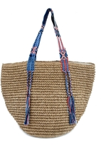 Fallon & Royce Gemma Straw Bag