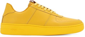 424 Low Top Leather Sneakers