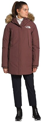 The North Face New Outerboroughs Parka (Aviator Navy) Women's Clothing
