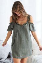 aerie Cold Shoulder Dress