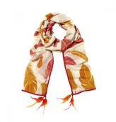 Mela Artisans Flight in Orange Scarf