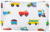 Wildkin Cars and Trucks Olive Kids Cotton Pillow Cover