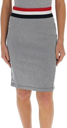 Thom Browne Ribbed Striped Skirt