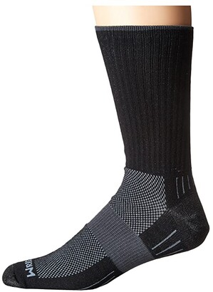 Wrightsock DL Escape Crew (Black) No Show Socks Shoes