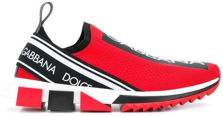 Dolce & Gabbana slip-on logo sneakers