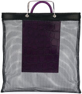 Givenchy crocodile effect mesh tote - women - Polyamide/metal - One Size