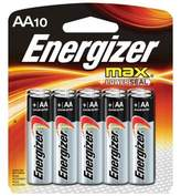 Energizer MAX 10-Pack AA Batteries