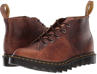 Dr. Martens Made In England Church Ripple Made In England (Brown) Boots