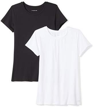 Amazon Essentials 2-Pack Tech Stretch Short-Sleeve Crew T-ShirtXS