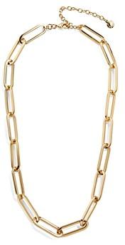 BaubleBar Hera Large-Link Collar Necklace, 17-20