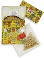 SugarBooger by o.r.e Good Lunch Set of 3 Snack Sack in Hungry Monsters