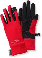 L.L. Bean Women's Multisport Power Stretch Touch Gloves
