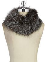 Surell Fox Fur-Infinity Scarf