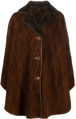 A.N.G.E.L.O. Vintage Cult 1980s Diamond Quilted Buttoned Coat