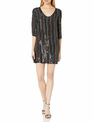 Velvet by Graham & Spencer Women's Elisa Retro Sequin Dress