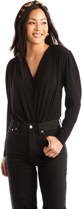 Astr Women's Maia Bodysuit In Color: Black Size XS From Sole Society