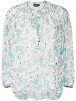 Isabel Marant Mia relaxed floral blouse