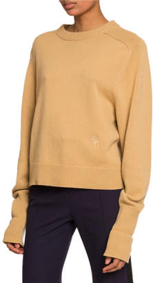 Chloé Long-Sleeve Crewneck Sweater