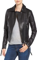 Rudsak Women's Asymmetrical Leather Jacket