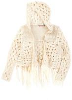 Vintage Havana Crochet Sweater Wrap (Big Girls)